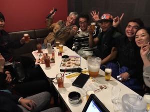 ビリヤード広島Hammer2019年3月常連さん飲み会