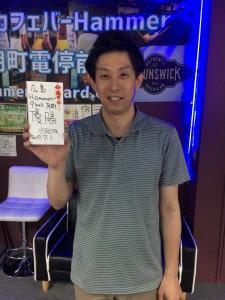 2017年7月度第12回優勝大塚さん